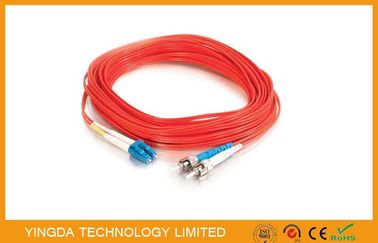 China ST / PC - LC / UPC Patch Cord Multimode Fiber MM 50 (125) 3M 3mm LSZH supplier