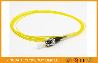 China ST Pigtail Singlemode, Fiber Optic Pigtail ST SM 9/125 3M Loose Easy Peel Cable Jacket factory