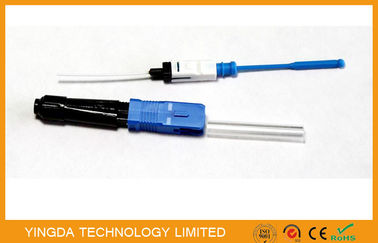 China High Efficiency Field Installable Connector , FTTH Optic Fiber Terminal Connector factory