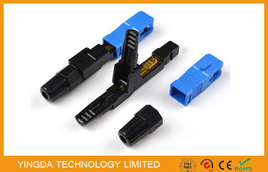China High Performance Fiber Optic Fast Field Installable Connector SC LC FC ST G657A supplier
