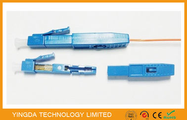 China Mechanical Fast Field Installation UPC LC Fiber Optic Connector  , Quick SC Connector  factory