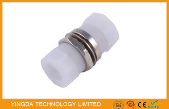 China Fiber Optic Coupler FC SM SX , Fiber Adapter FC / PC D Type Metal Simplex supplier