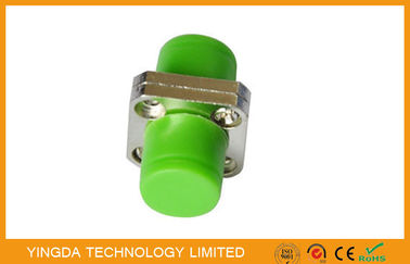 China Metal + Plastic FC Square Fiber Optic Adapter For Telecommunication / CATV Network factory