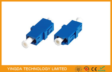 China ABS LC UPC SM SX Fiber Optic Coupler LC / PC Singlemode E2000 Adaptor supplier