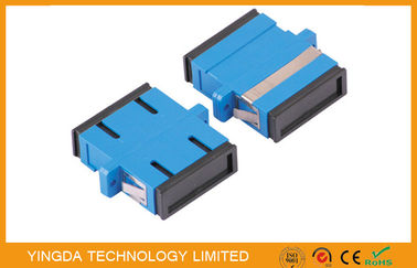 China ST , SC , MT-RJ- or LC - type Fiber Optic Adapter , Standard Square Connector supplier