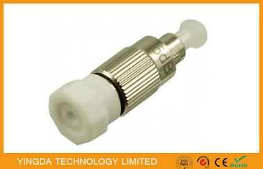 China FC PC Plug In Type Single - mode Fiber Optic Attenuator 3dB , 5dB , 10dB , 15dB supplier