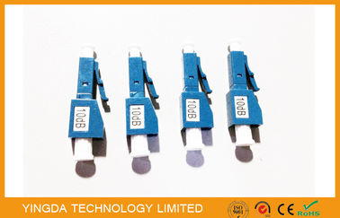 China Fixed Type 10dB , 1 - 20dB Multimode Fiber Attenuator LC/PC For CATV FTTH supplier