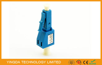 China Plastic Single - Mode Fiber Optic Attenuator For LAN & WAN / FTTP Network supplier