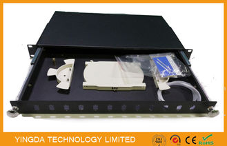 China Corrosion Resistance Optical Fibre Patch Panel Pull - push Type , Termination Box supplier