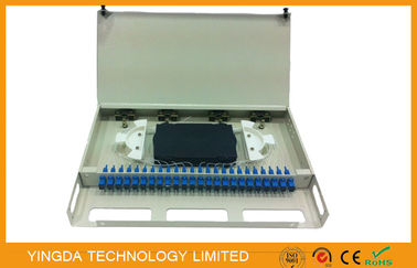 China SC Simplex 24 Port Fiber Patch Panel For FTTH FTTX FTTB ODN PON Network supplier