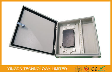 China 48 Core 72 Port Fiber Optic Termination Box, 48 Port Wall Mount Termianl Box factory