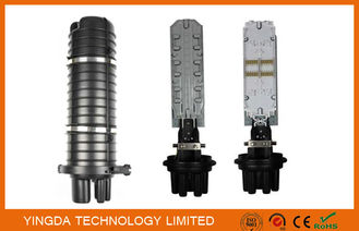 China Heat Shrinkable Seal 1 Oval + 8 Round Fiber Optic Splice Closure / Cable Enclosures supplier