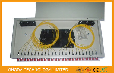 China Rack Mount Fiber Optic Patch Panel supplier