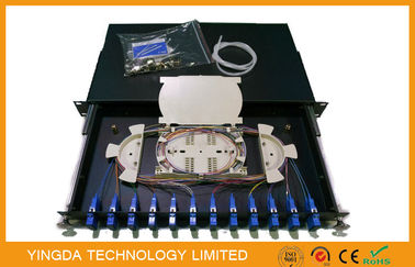 China 12 Port Fiber Optic Patch Panel supplier