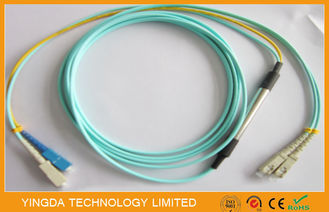 China Fiber Optic OM3 Patch Cord 10G supplier