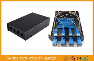 China SC / LC Fiber Optic Termination Box 4 Port supplier