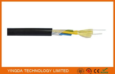 China Outdoor CATV Base Station Patch Cord FTTH Drop Cable 7.0mm PE Sheath Tight Buffered Cable factory