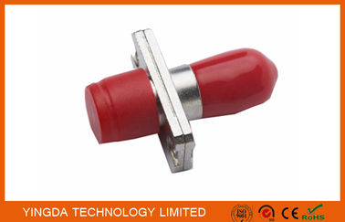 China Metal SM SX  Hybird Fiber Optic Adapter / Telecom Network Optical Fiber FC/ST Adapter factory