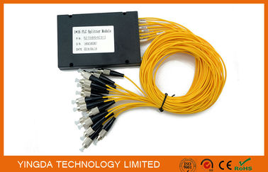 China High Precise FTTH Network Passive Optical Splitter Module FC UPC SM 2.0mm supplier