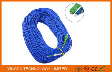 China SM SX SC / LC Fiber Optic Patch Cord 0.9mm ( 9 / 125um) , 1.6mm , 1.8mm , 2.0mm , 3.0mm supplier
