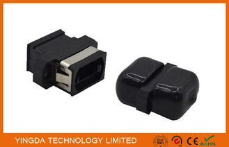 China SC Footprint 12 Core Mpo / Mtp Multi Mode Fiber Adapter Coupler Flange Connector factory