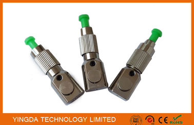 China Single Mdoe Network Bare Fiber Adaptor Metal Round Boot ST To LC Fiber Adapter factory