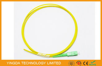 China Fiber Optic Pigtail SC APC SM SX 1.5 Meter 3.0mm LSZH, SC APC SM SX Pigtail 3mm factory