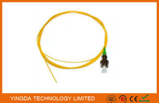 China Pigtail OS1 FC APC Simplex SM 0.9mm 3Meter Fiber Optic Cable Yellow factory