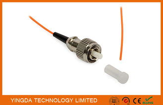 China Fiber Optic Pigtail FC PC Mulitmode OM2 50/125 Simplex Orange 900um LSZH G655 factory