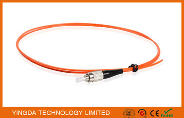 China Multi-mode Fiber Optic Pigtail FC MM 50/125um 2mm 2Mtrs Simplex PVC Fiber Optic Cable factory