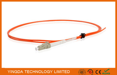 China Fiber Pigtails LC Multimode Simplex 2.0mm Diameter LSZH Tight Buffer Orange factory