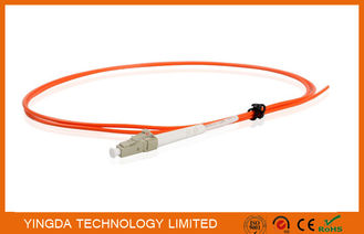 China Fiber Pigtails LC Multimode Simplex 2.0mm Diameter LSZH Tight Buffer Orange supplier