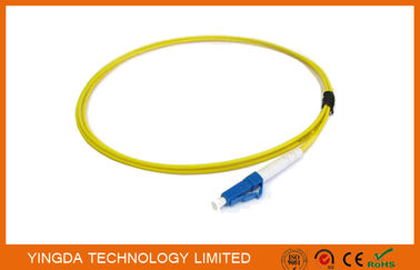 China Single Mode Optical Fiber Pigtails LC PC Simplex 2.4 mm Diameter 3 Meter supplier