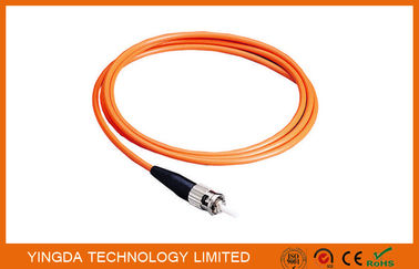 China LWL Pigtails ST Muliti-mode Simplex 1.5 Meter 3mm , Fibre Optic Pigtails ST MM SX 3mm factory