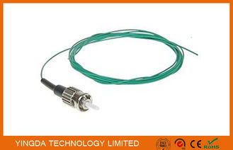 China Fiber Optic Pigtail Jumper ST Mulitmode SX 0.9mm Aqua OM3 10 Gigabit Optical Cable supplier