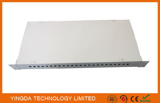 China Optical Distribution Frame Rack Mounted 24 Cores FC SC LC ST Fiber Optic Patch Panel supplier