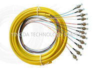 FTTH Optic Fiber Pigtail FC UPC SM Single Mode Simplex 900um LSZH 5M Yellow 1310nm supplier