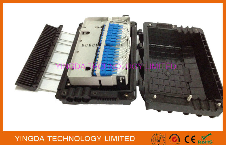 48 Cores Fusion Splice Fiber Optic Distribution Box 3 In 3 Out For Buffer Tube supplier