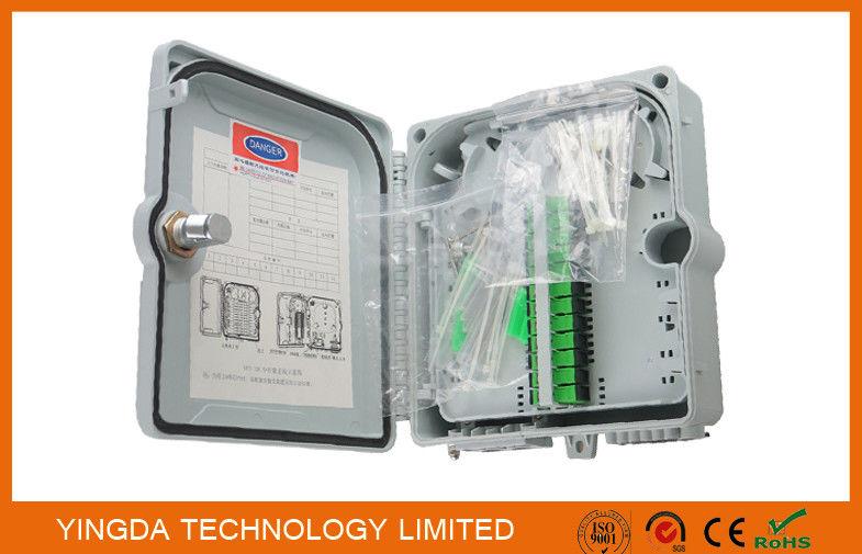 High Strength Gpon 12 Fiber Optic Termination Box Fiber