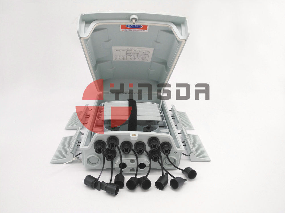 96 Cores Outdoor FTTH Fiber Optic Cable Junction Box with Reinforced SC Connector supplier