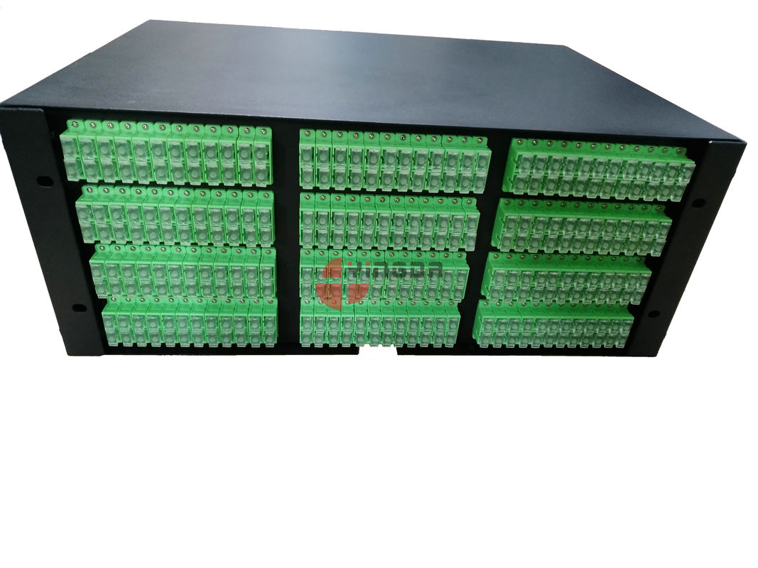 Cold Rolled Steel Fiber Patch Panel 288 Cores Slide Tray With SC Duplex Adapters supplier
