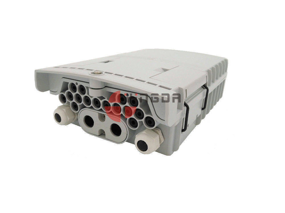 SC Drop Cable Straight Through Outdoor Fiber Termination Box GFS-16W 16 Ports supplier