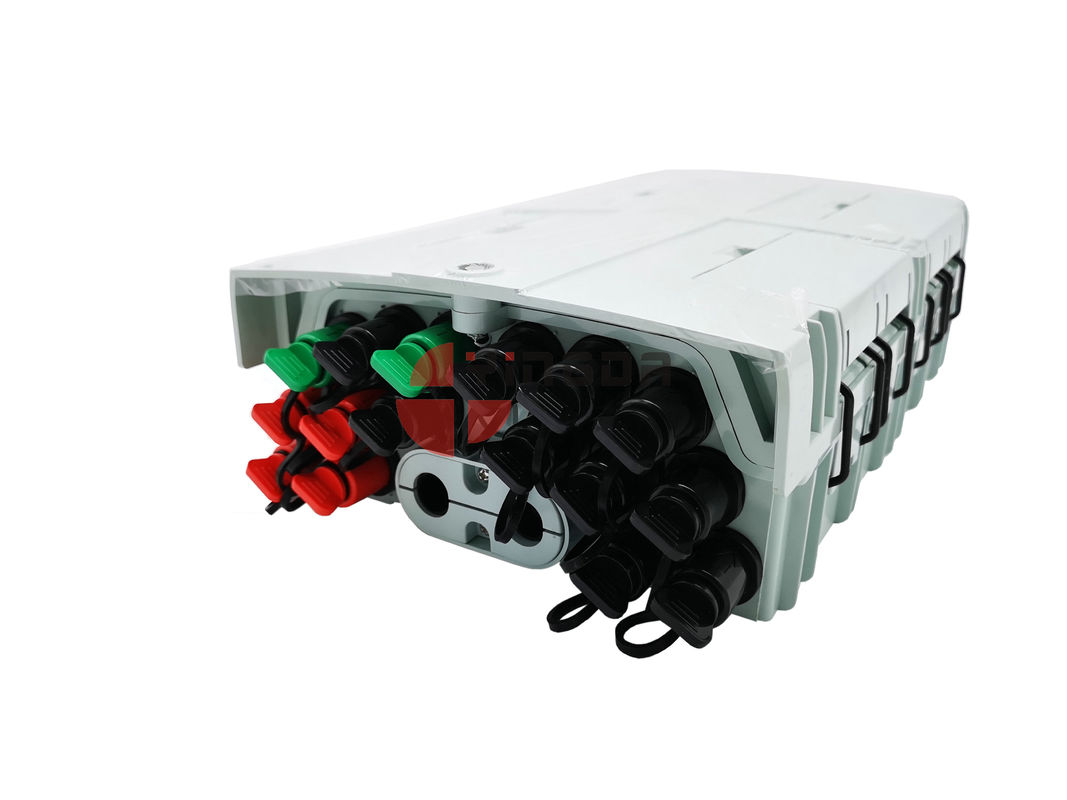 Mid Span Plastic Optical Distribution Box ABS PC SC Reinforced Adapter 16 Port supplier