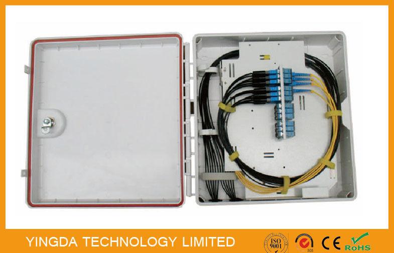 Cable Distribution Box : Core fiber optic distribution box cabinet port