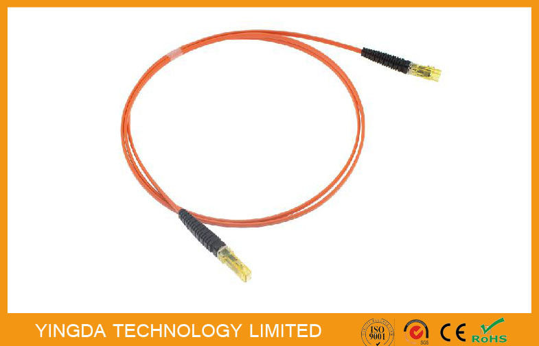 OM2  MPO MTP Fiber Cable MT - MT Patch Cords For QSFP + AOC Modules supplier