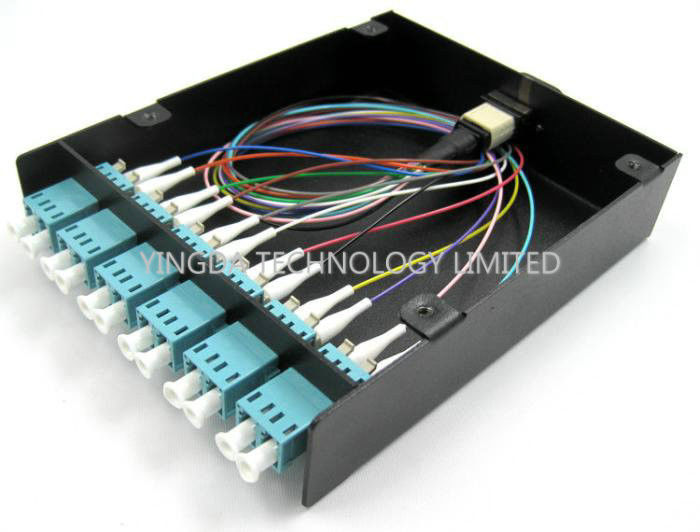 24 Fiber Sc Fc St Lc Mpo Mtp Cassette Modules For Patch