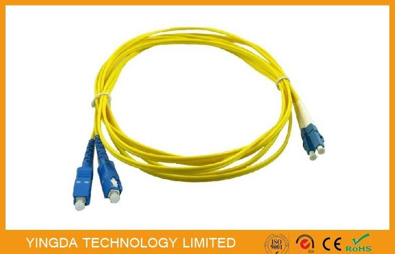 GPON SC / LC Fiber Optic Patch Cord Cable , ST - LC Fiber Patch Cord