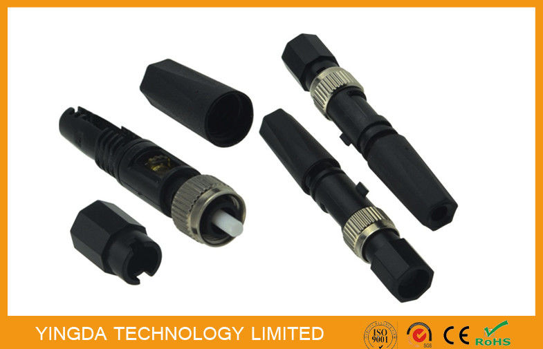 Single Mode Assembly Connector , FC Fiber optic connector Field Installation FTTH supplier