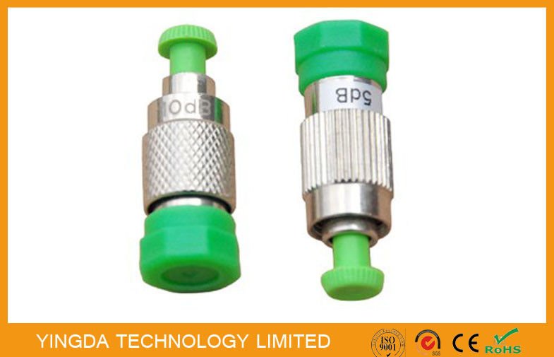 SC, LC , FC , ST, MU Female To Male Fiber Optic Attenuator Plug - in Type (FC APC F-M ) supplier