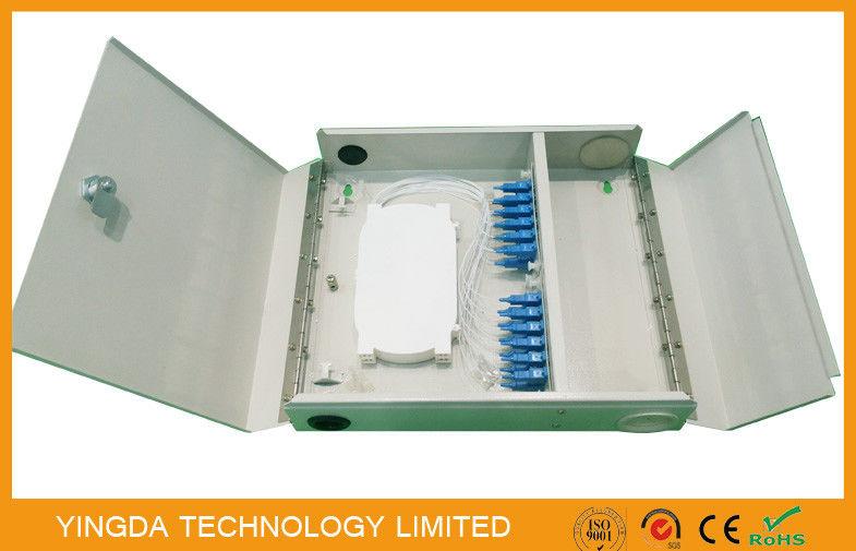 Two Door Single Multi Mode Fiber Optic Termination Box